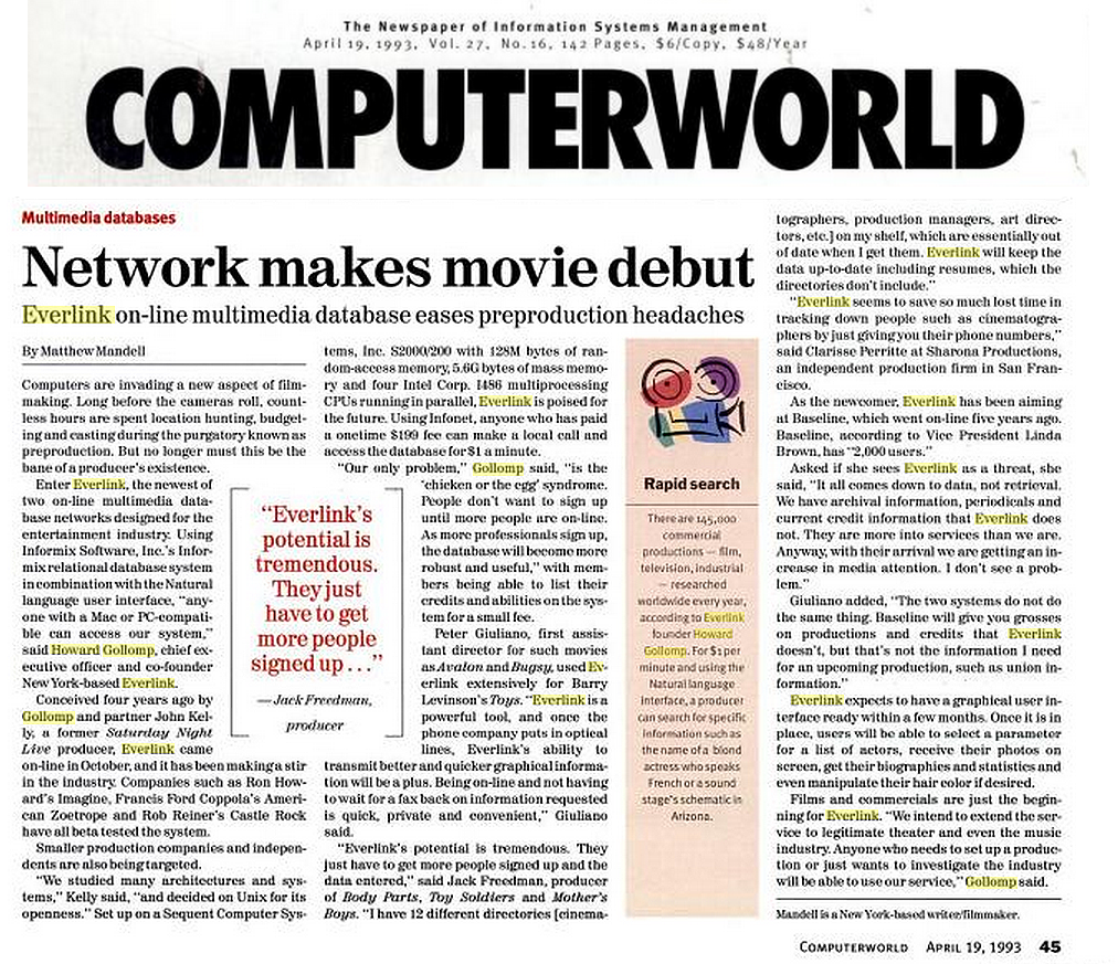 Everlink Featured in ComputerWorld